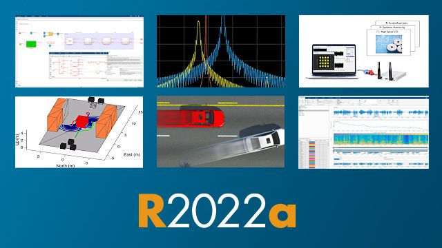 Release 2021a offers hundreds of new and updated features and functions in MATLAB and Simulink, along with three new products.