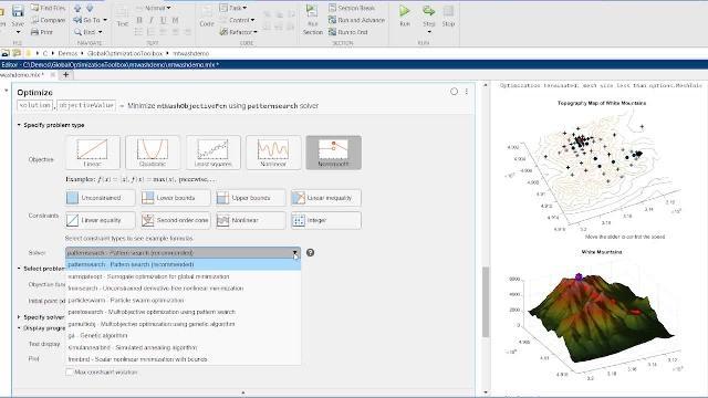 Solve multiple maxima, multiple minima, and nonsmooth optimization problems using Global Optimization Toolbox.