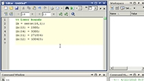 Solve a linear program using Optimization Toolbox solvers, using a steam and electric power plant example.
