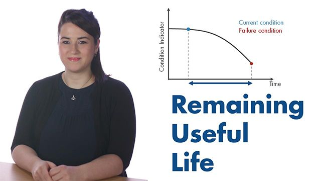 Predictive maintenance lets you estimate the remaining useful life (RUL) of your machine. Explore three common models to estimate RUL: similarity, survival, and degradation.