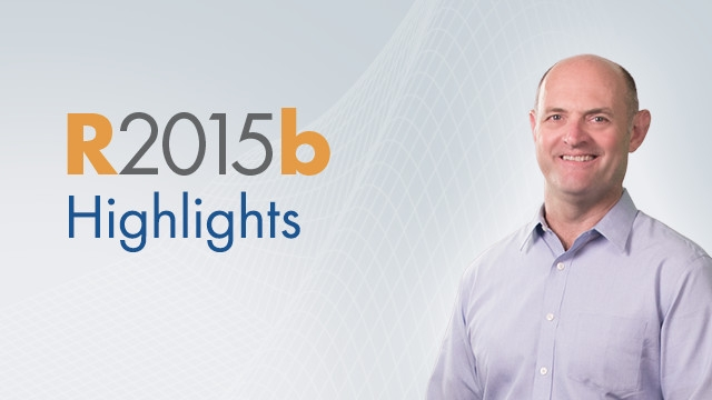 Release 2015b includes new releases of MATLAB and Simulink as well as updates and bug fixes to all other products.