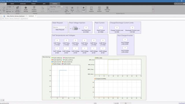 Discover how to use Simulink Test to verify a battery management system (BMS) software component in Simulink.